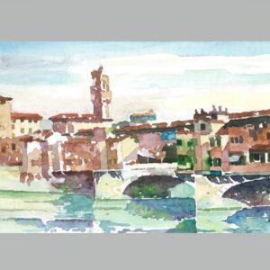 Ponte Vecchio a Firenze ( Puente y torre )
